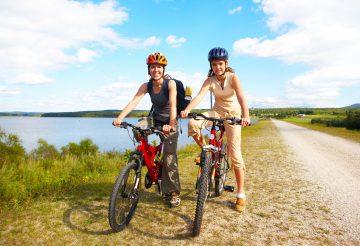 Велопрогулка летом в нижегородской области